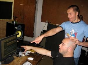 Paul and Bobby Recording Nov 11 2009